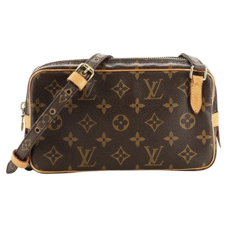 Louis Vuitton Pochette Marly Bandouliere Bag Monogram Canvas For Sale