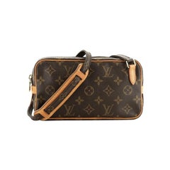 Louis Vuitton Pochette Marly Bandouliere Bag Monogram Canvas