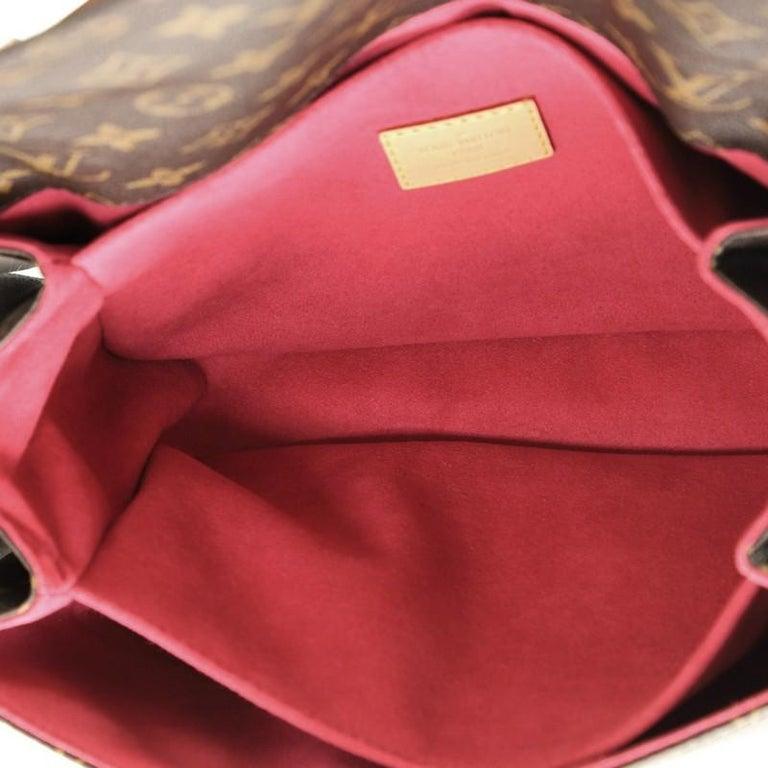 Louis Vuitton Pochette Metis Limited Edition Love Lock Monogram Canvas 1