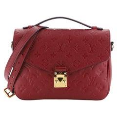 Louis Vuitton Pochette Metis Monogram Empreinte Leather