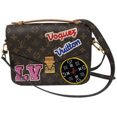 Louis Vuitton Pochette Metis Patches Limited Edition