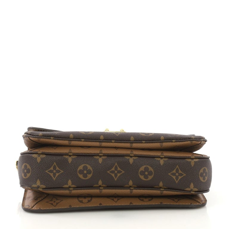 Louis Vuitton Pochette Metis Reverse Monogram Canvas In Good Condition In New York, NY