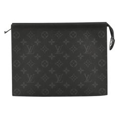 Louis Vuitton Pochette Voyage Monogram Eclipse Canvas MM