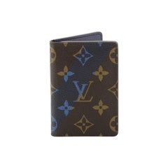 Louis Vuitton Pocket Organizer Limited Edition Monogram Canvas