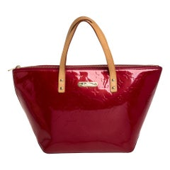 Louis Vuitton Pomme D'amour Monogram Vernis Bellevue PM Bag