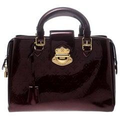 Louis Vuitton Pomme D'amour Monogram Vernis Melrose Avenue Bag