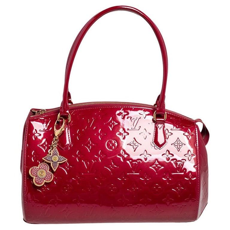 Louis Vuitton Pomme D'Amour Monogram Vernis Montana Bag For Sale