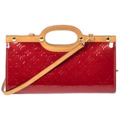 Louis Vuitton Pomme D'amour Monogram Vernis Roxbury Drive Bag