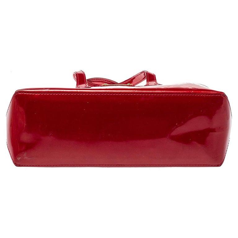 Women's Louis Vuitton Pomme D'amour Vernis Wilshire PM Bag For Sale