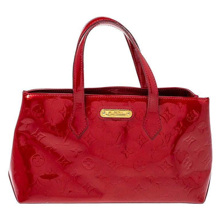 Louis Vuitton Pomme D'amour Vernis Wilshire PM Bag For Sale