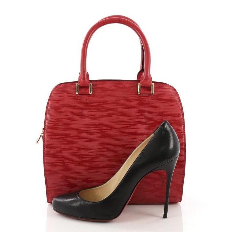 a95d8188 Louis Vuitton Pont Neuf Handbag Epi Leather PM