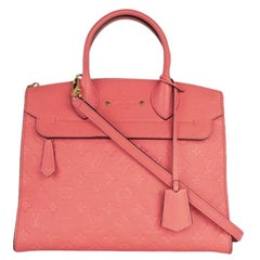 LOUIS VUITTON pont neuf Shoulder bag in Pink Leather
