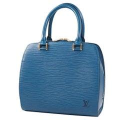 LOUIS VUITTON Pont Neuf Womens handbag MI0978 Toledo Blue