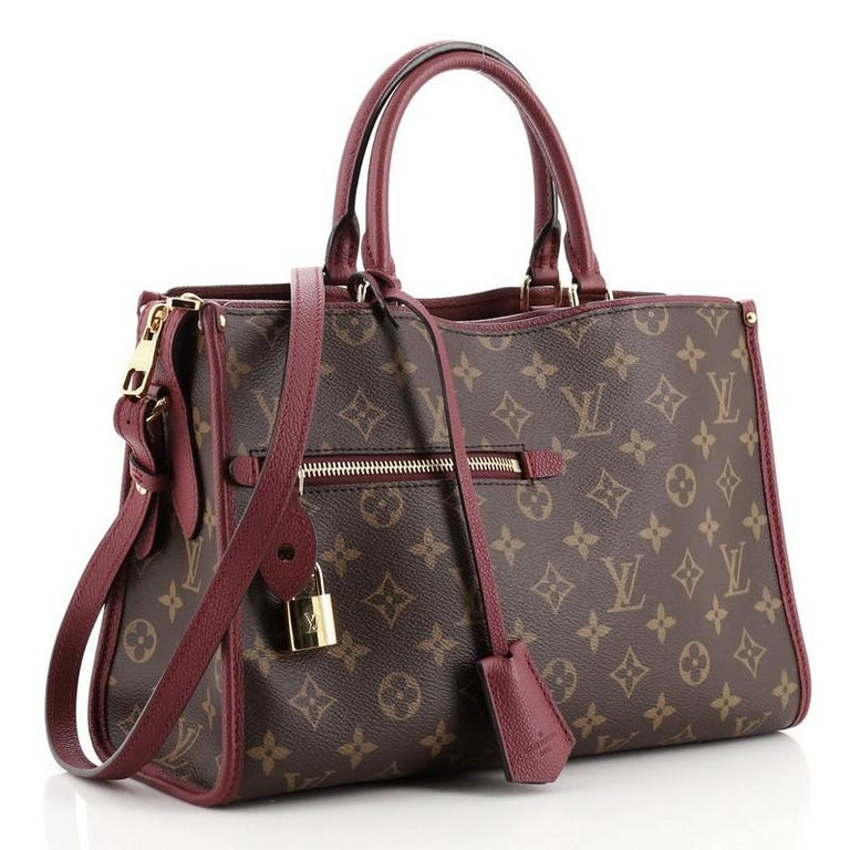 Louis Vuitton Popincourt NM Handbag Monogram Canvas PM In Good Condition For Sale In New York, NY