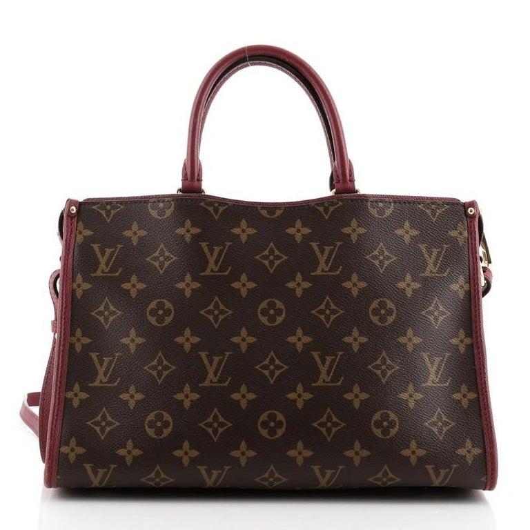 Women's or Men's Louis Vuitton Popincourt NM Handbag Monogram Canvas PM For Sale