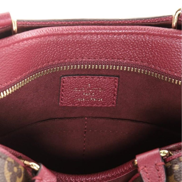 Louis Vuitton Popincourt NM Handbag Monogram Canvas PM For Sale 2