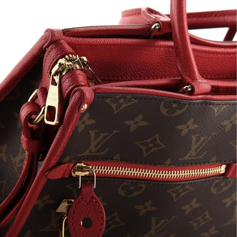 Louis Vuitton Popincourt NM Handbag Monogram Canvas PM For Sale 4