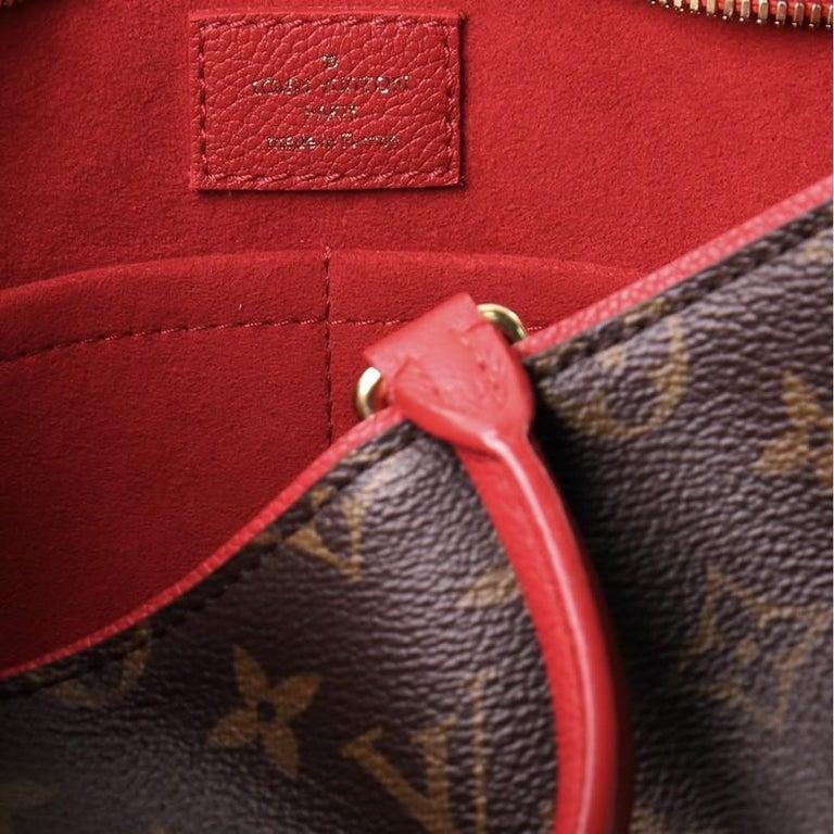 Louis Vuitton Popincourt NM Handbag Monogram Canvas PM For Sale 5