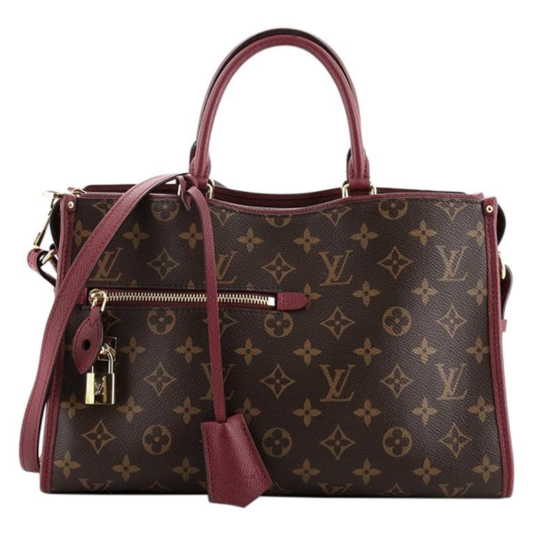 Louis Vuitton Popincourt NM Handbag Monogram Canvas PM For Sale