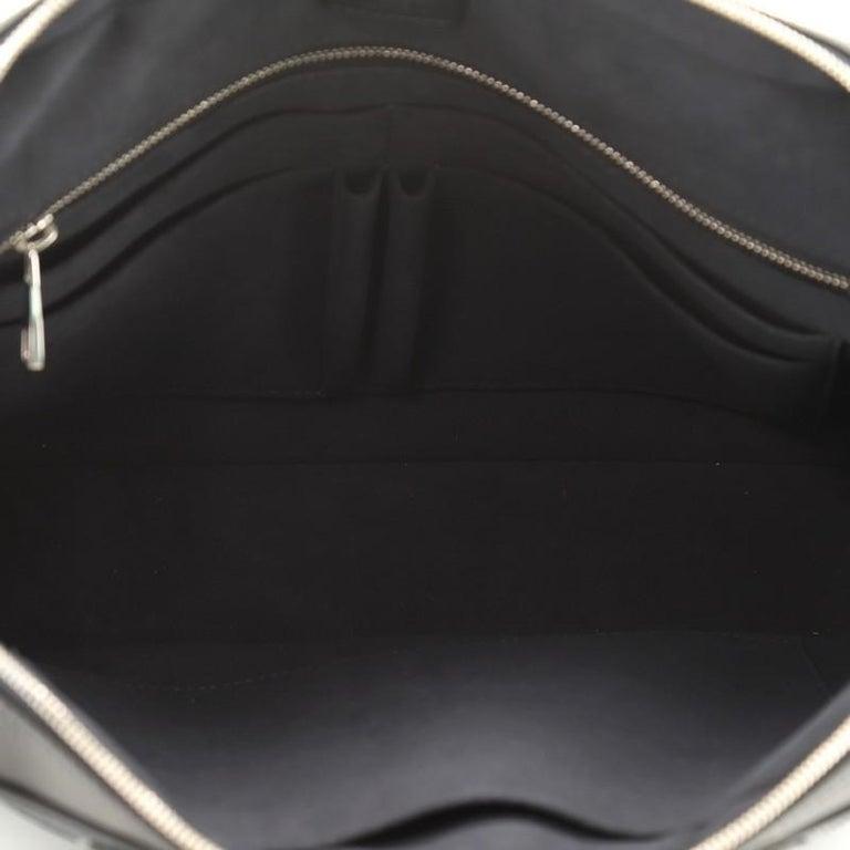 Women's or Men's Louis Vuitton Porte-Documents Business Bag Damier Cobalt For Sale