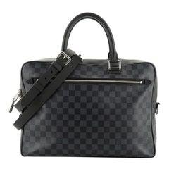 Louis Vuitton Porte-Documents Business Bag Damier Cobalt