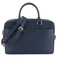 Louis Vuitton Porte-Documents Business Bag Taiga Leather PM