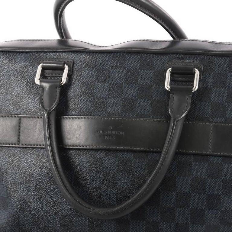 cbbd15ff08de2 Louis Vuitton Porte-Documents Damier Cobalt Business Bag bei 1stdibs