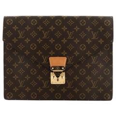 Louis Vuitton Porte-Documents Senateur Bag Monogram Canvas