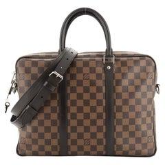 Louis Vuitton Porte-Documents Voyage Bag Damier PM