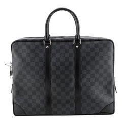 Louis Vuitton  Porte-Documents Voyage Briefcase Damier Graphite
