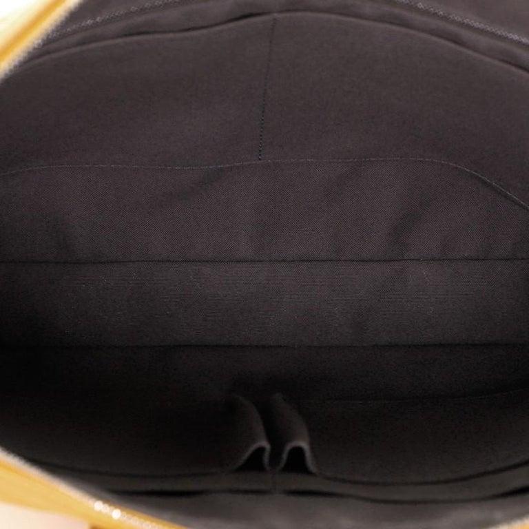 Women's or Men's Louis Vuitton Porte-Documents Voyage Briefcase Damier Infini Leather For Sale