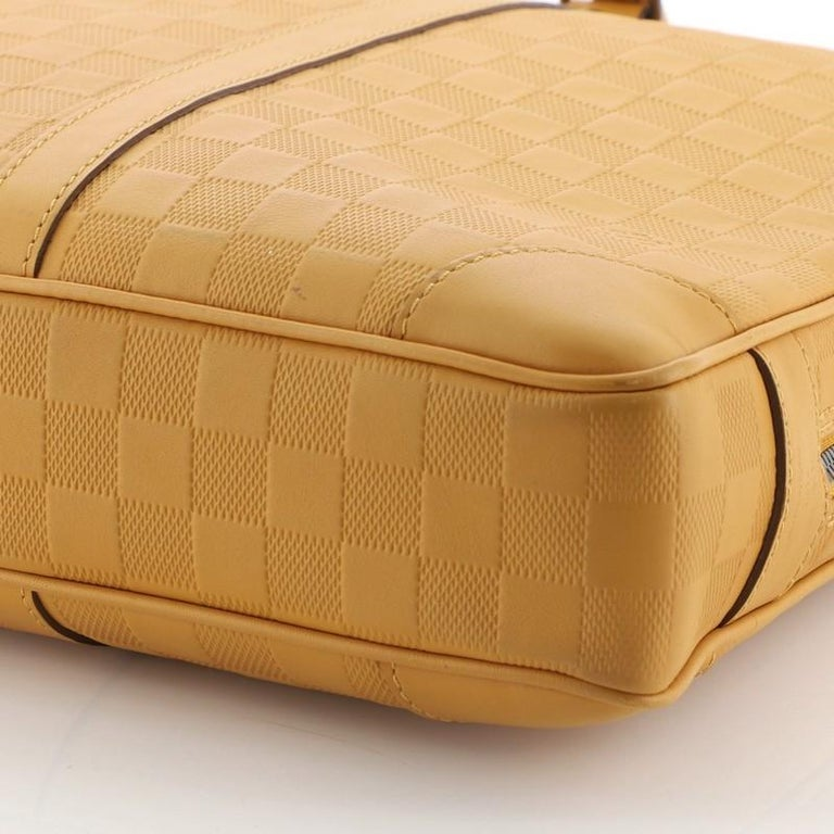 Louis Vuitton Porte-Documents Voyage Briefcase Damier Infini Leather For Sale 2