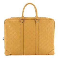 Louis Vuitton Porte-Documents Voyage Briefcase Damier Infini Leather