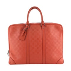 Louis Vuitton  Porte-Documents Voyage Briefcase Damier Infini Leather PM