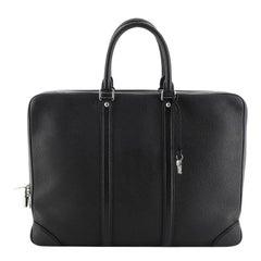 Louis Vuitton Porte-Documents Voyage Briefcase Taurillon Leather