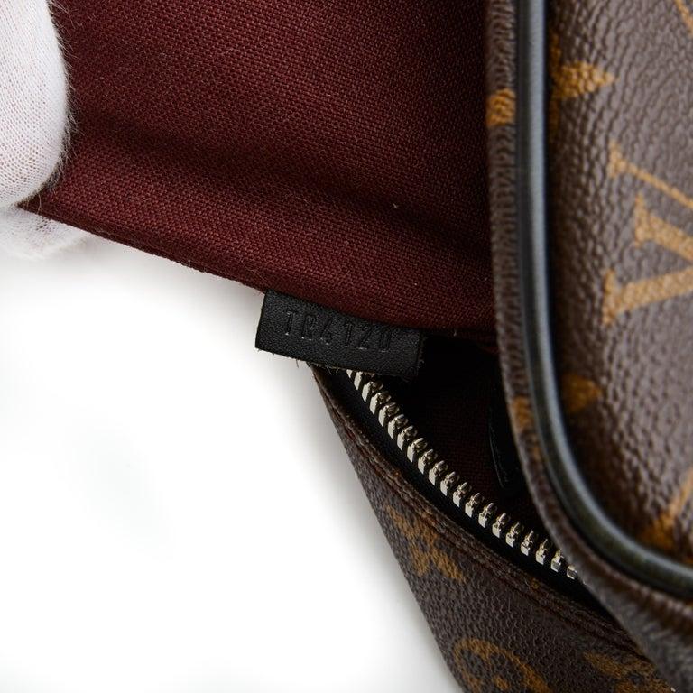 Louis Vuitton Porte-Documents Voyage Gm Monogram Macassar Weekend Bag For Sale 1