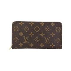 Louis Vuitton Porte-Monnaie Wallet Monogram Canvas
