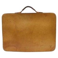 Louis Vuitton Porte Rare  Attache Briefcase Documents 870156 Brown Laptop Bag