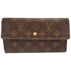 Louis Vuitton Porte Tresor International Brown Monogram Wallet