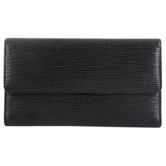 Louis Vuitton Porte Tresor International Wallet Epi Leather