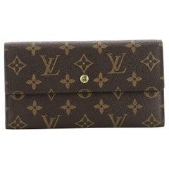 Louis Vuitton Porte Tresor International Wallet Monogram Canvas