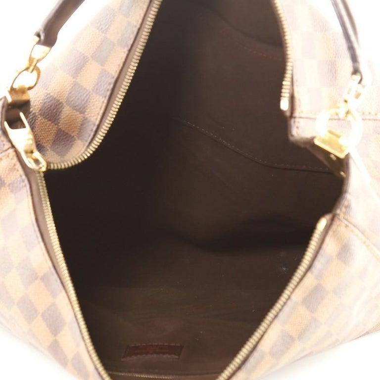 Women's or Men's Louis Vuitton Portobello Handbag Damier GM For Sale