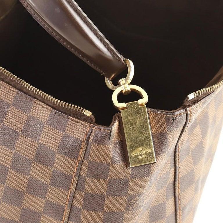 Louis Vuitton Portobello Handbag Damier GM For Sale 2