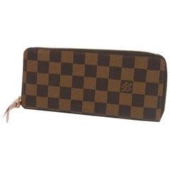 LOUIS VUITTON portofeuilles Clemence Womens long wallet N41626 Rose ballerine