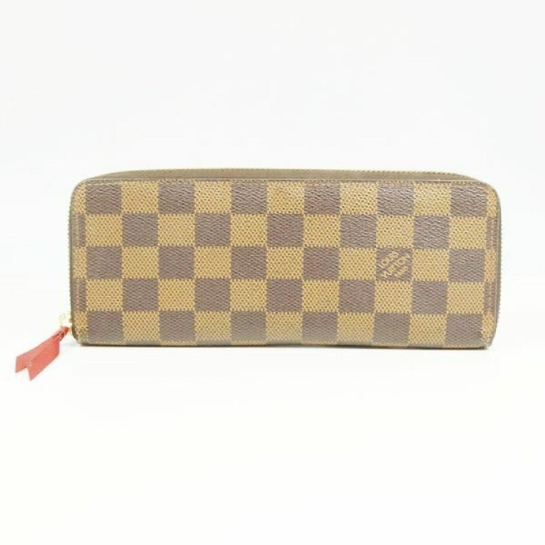 LOUIS VUITTON portofeuilles Clemence Womens long wallet N60534 cerise In Good Condition For Sale In Takamatsu-shi, JP