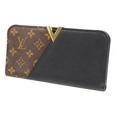 LOUIS VUITTON portofeuilles Kimono unisex long wallet M56175 noir