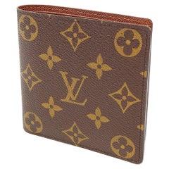LOUIS VUITTON portofeuilles Marco unisex Folded wallet M61675 brown