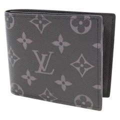 LOUIS VUITTON portofeuilles MarcoNM Mens Folded wallet black