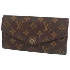 LOUIS VUITTON portofeuilles Sarah Womens long wallet M62236 Cocrico