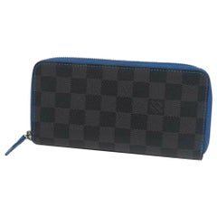 LOUIS VUITTON portofeuilles Vasco Mens long wallet N64031 blue